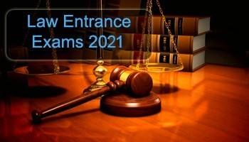 Law Entrance Exams 2021  College Disha